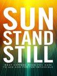 Sun Stand Still Book