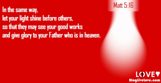 Matthew 5:16 banner