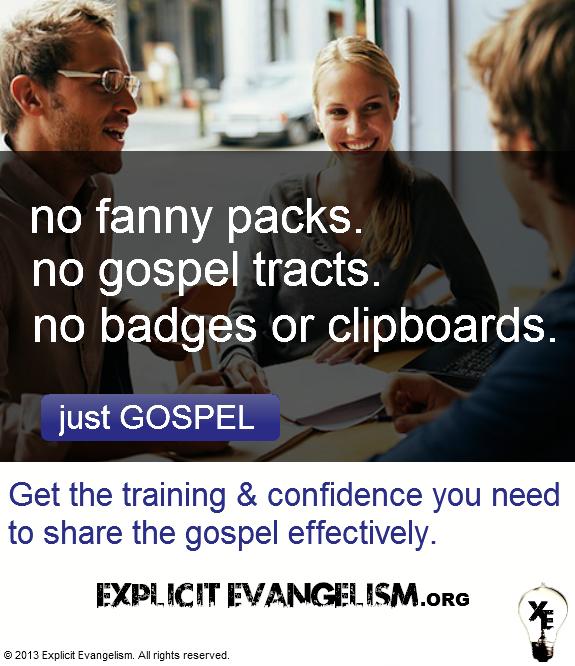 Evangelism Training AD